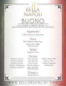 Buono Menu (Good)